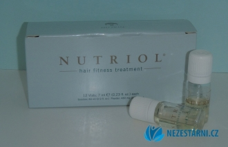 Nutriol Hair Fitness Treatment - zažehlovací intenzivní vlasová kůra - 12x7 ml