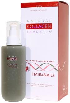 Přírodní kolagen Inventia HAIR & NAILS - na VLASY A NEHTY - Triple Helix Formula - Živý kolagen