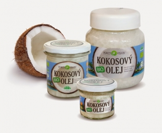 BIO Panenský kokosový olej lisovaný za studena
