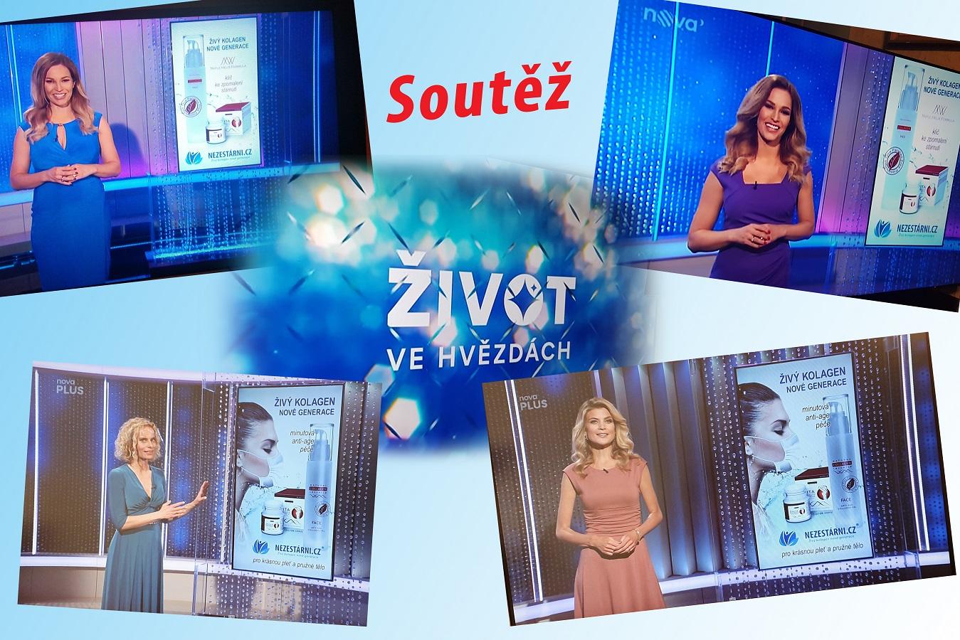 Živý kolagen - soutěž s TV Nova + nově naskladněny balíčky 2+1
