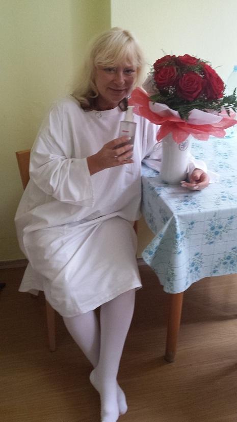 Kolagen NEZESTÁRNI.CZ  Eva Sojková - posílám foto z nemocnice