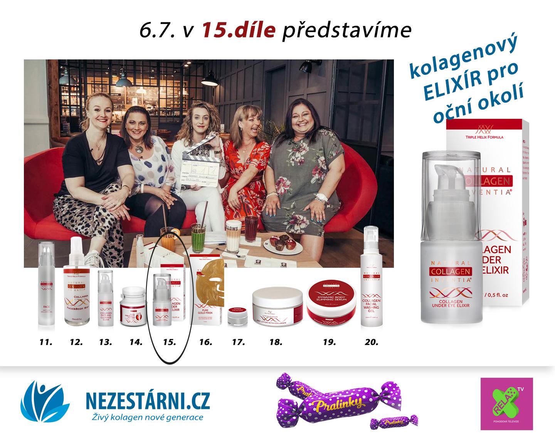 Živý kolagen - velká letní soutěž s NEZESTÁRNI.CZ a TV RELAX - 15.díl