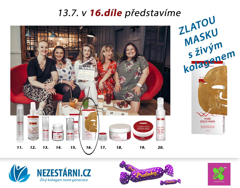 Živý kolagen - velká letní soutěž s NEZESTÁRNI.CZ a TV RELAX - 16.díl