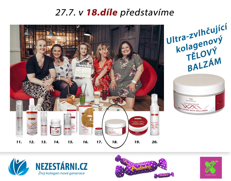Živý kolagen - velká letní soutěž s NEZESTÁRNI.CZ a TV RELAX - 18.díl