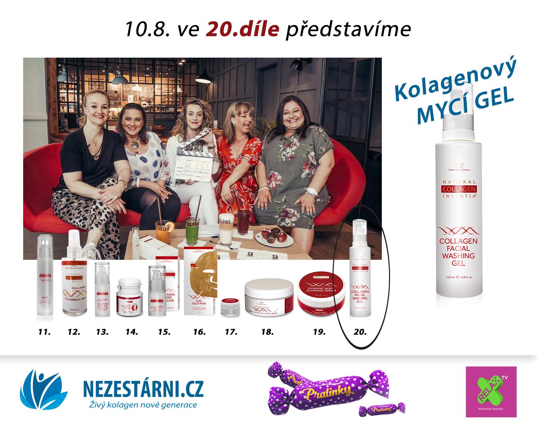 Živý kolagen - velká letní soutěž s NEZESTÁRNI.CZ a TV RELAX - 20.díl