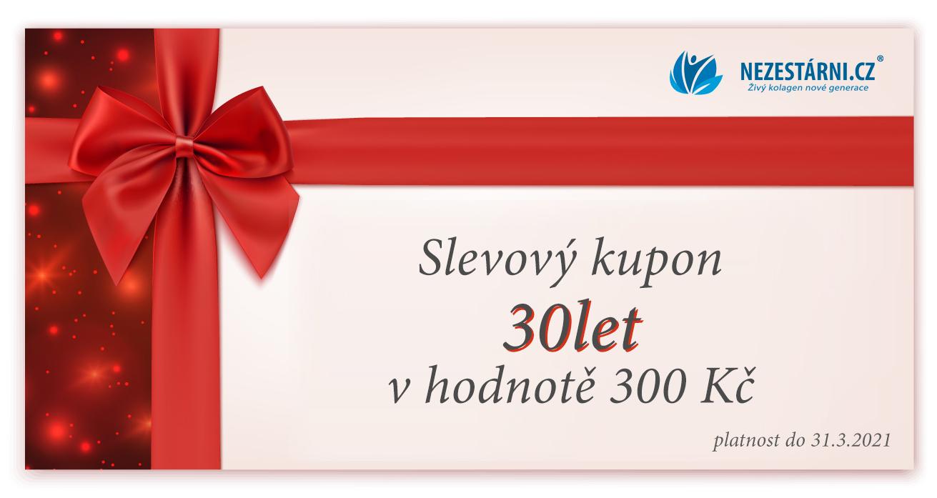 Živý kolagen - slevový kupon 300 Kč + dárky za nákup do 31.3. 2021